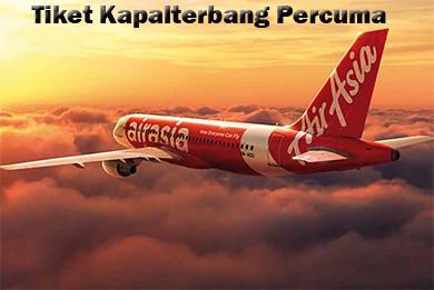 Tiket Percuma Air Asia
